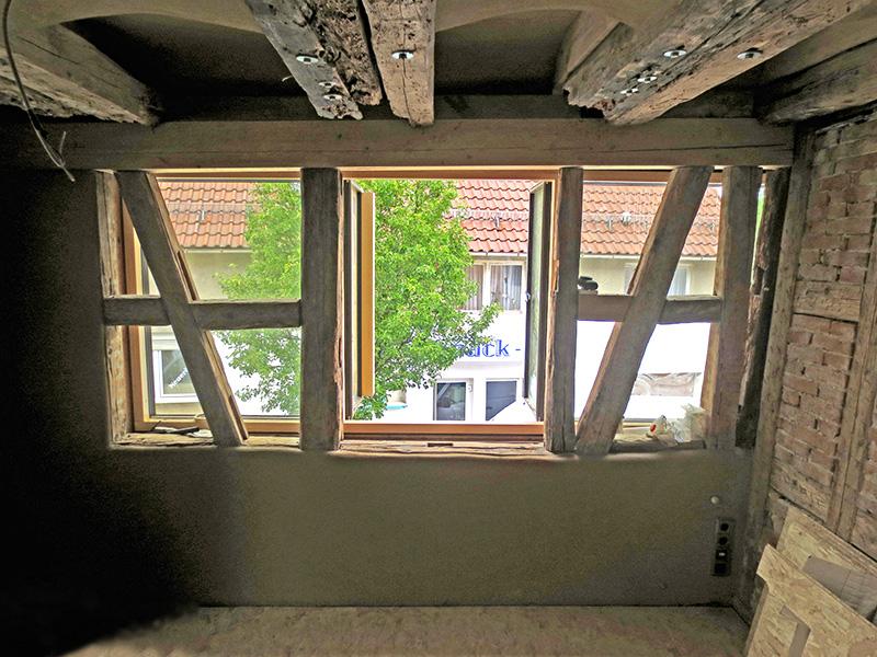 Fenster Fachwerkhaus architekturbüro brinkmann umbau reihenhaus mit energetischer